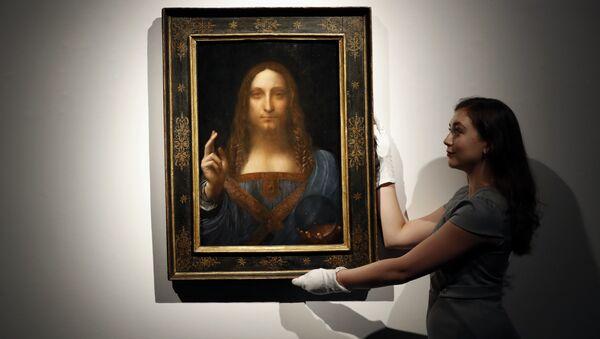Leonardo da Vinci- Salvator Mundi - Sputnik Türkiye