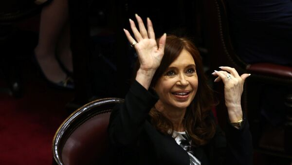 Arjantin eski Devlet Başkanı Cristina Fernandez de Kirchner - Sputnik Türkiye