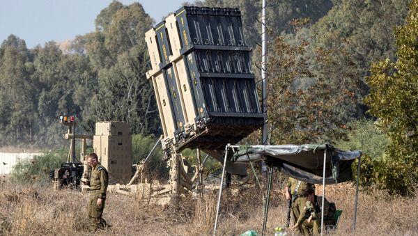 İsrail'in Demir Kubbe Savunma Sistemi - Sputnik Türkiye