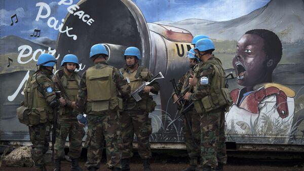 BM Kongo barış gücü Monusco - Sputnik Türkiye