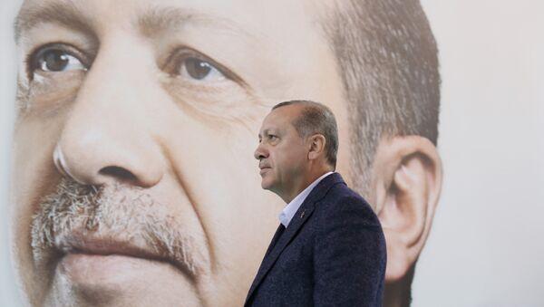 Erdoğan AKP toplantısı Sivas - Sputnik Türkiye