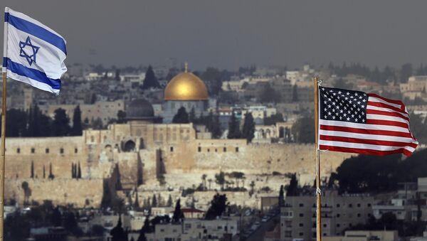 Kudüs- İsrail- ABD - Sputnik Türkiye