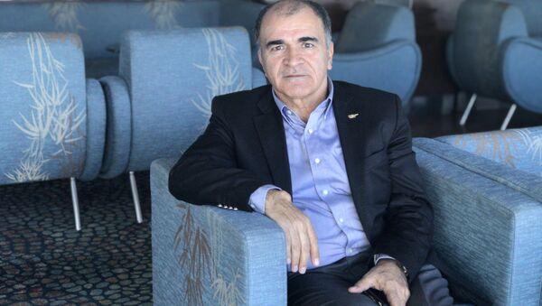 Türkiye Otelciler Federasyonu Başkanı Osman Ayık, Sputnik muhabiri Elif Sudagezer'in sorularını yanıtladı.  - Sputnik Türkiye