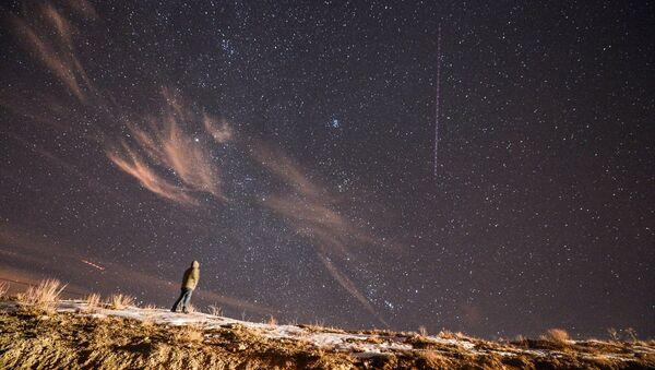 Geminid Meteor yağmuru büyüledi - Sputnik Türkiye