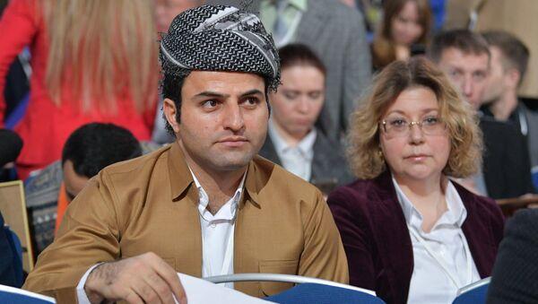 Direkt hat'a katılan Iraklı kürt gazeteci - Sputnik Türkiye