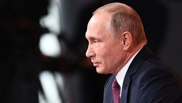 Vladimir Putin's annual news conference - Sputnik Türkiye