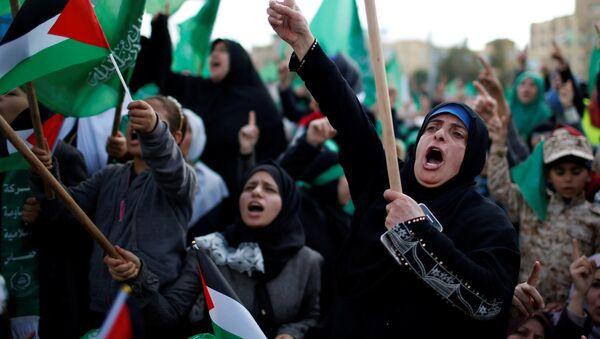 Hamas'ın 30. kuruluş yıl dönümü - Sputnik Türkiye