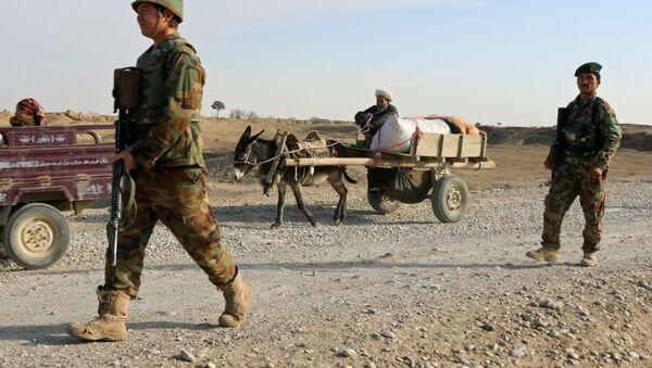 Afganistan güvenlik güçleri - Sputnik Türkiye