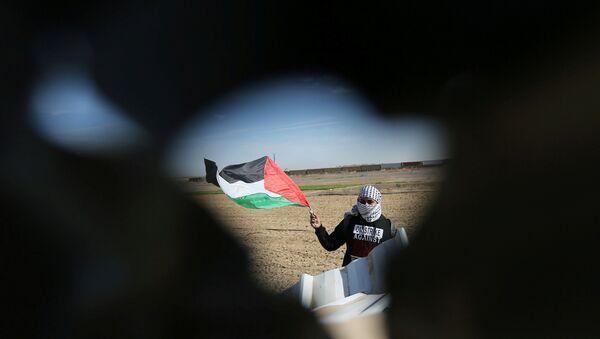 Filistin bayrağı - Gazze  - Sputnik Türkiye