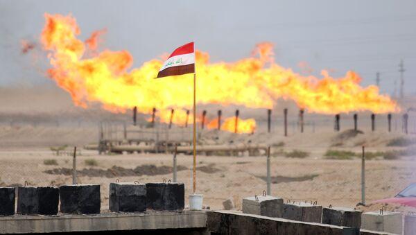 Irak Basra Zübeyr petrol boru hattı - Sputnik Türkiye