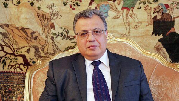 Russian Ambassador to Turkey Andrey Karlov - Sputnik Türkiye