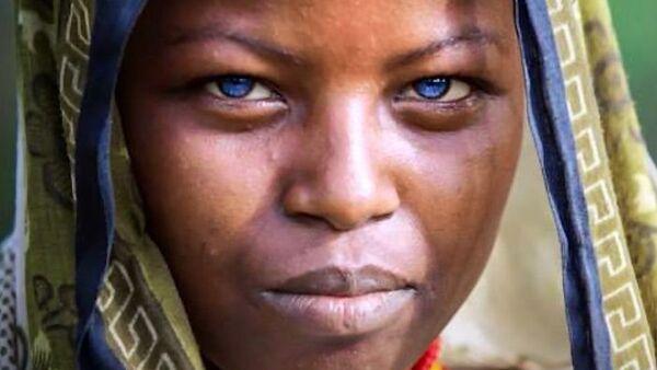 Evrenin bir mucizesi: mavi gözlü Afrikalılar - Sputnik Türkiye