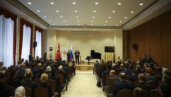 Rus büyükelçi Karlov, ölümünün birinci yıldönümünde Ankara'da anıldı - Sputnik Türkiye