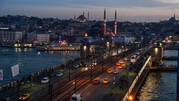 İstanbul Galata Köprüsü İTO - Sputnik Türkiye