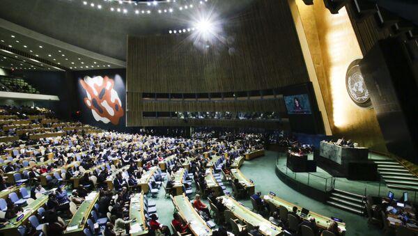 BM Genel Kurulu Kudüs oylaması - Sputnik Türkiye