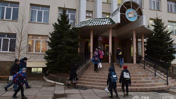 Kırım'da Rus çocuklar Tatarca öğreniyor - Sputnik Türkiye