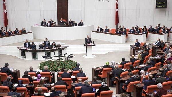 Başbakan Binali Yıldırım, TBMM Genel Kurulu'nda konuştu - Sputnik Türkiye