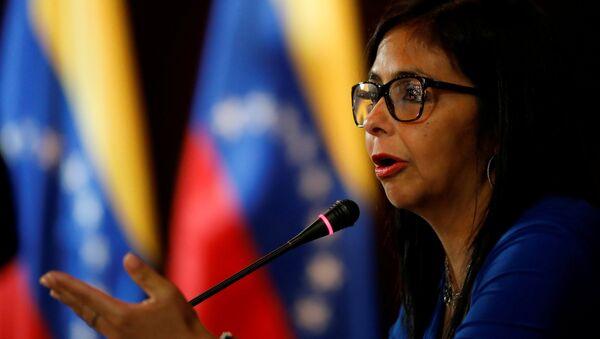 Venezüella Kurucu Meclis Başkanı Delcy Rodriguez - Sputnik Türkiye