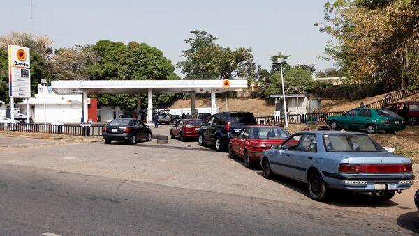 Nijerya'da benzin krizi - Sputnik Türkiye