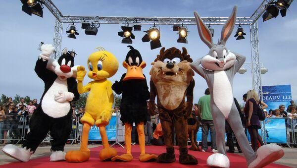 Sylvester, Tweety, Daffy Duck, Taz ve Bugs Bunny - Sputnik Türkiye