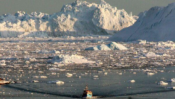 Grönland buzullar eriyor - Sputnik Türkiye