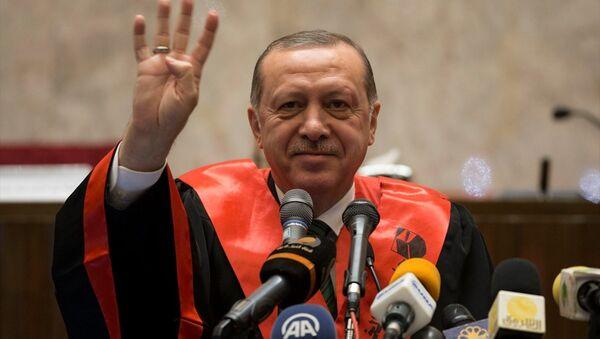 Cumhurbaşkanı Recep Tayyip Erdoğan, Sudan'da. - Sputnik Türkiye