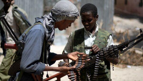 Somali İslamcı militan - Sputnik Türkiye