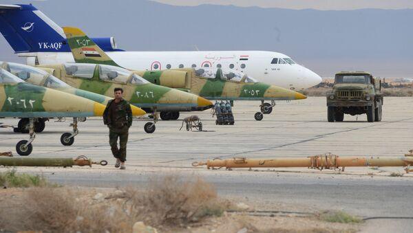 Suriye Hava Kuvvetleri'ne ait L-39 Albatros uçakları - Sputnik Türkiye