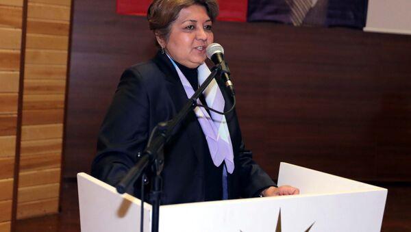 AKP Genel Merkez Kadın Kolları Yerel Yönetimler Başkanı Belma Erdoğan - Sputnik Türkiye