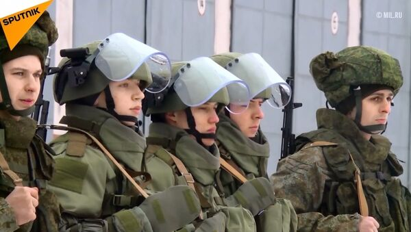 Rus istihkam birliklerinden kapsamlı taktik tatbikat - Sputnik Türkiye