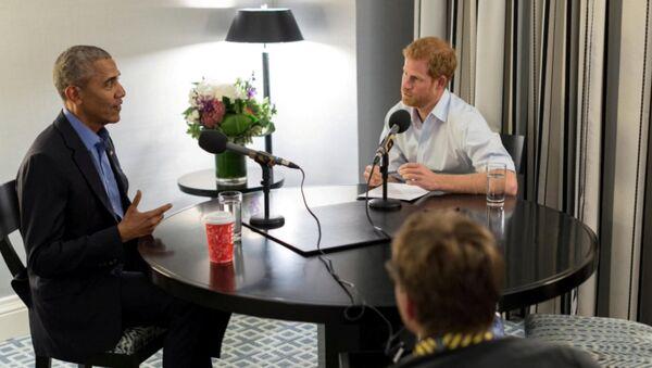 Barack Obama- Prens Harry - Sputnik Türkiye