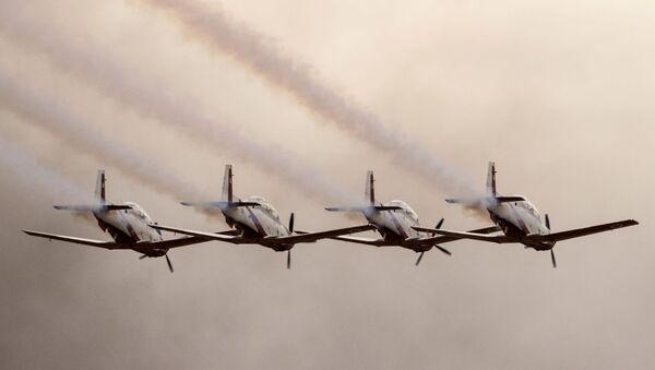 İsrail'in Hatzerim Hava Üssü'nde pilotların mezuniyet töreni - Sputnik Türkiye