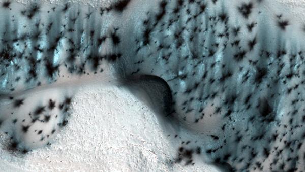 Mars'ta kış - Sputnik Türkiye