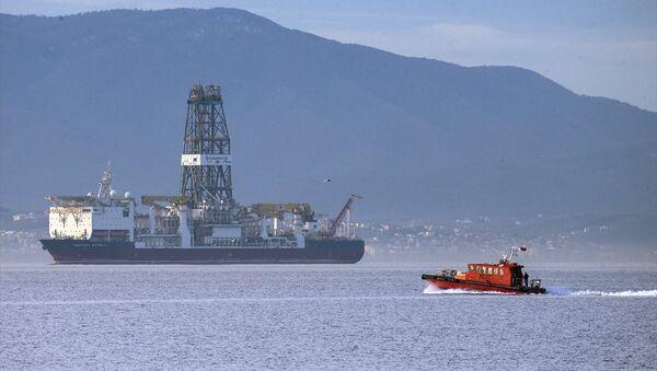 Türkiye'nin ilk sondaj gemisi Deepsea Metro-2 geliyor - Sputnik Türkiye