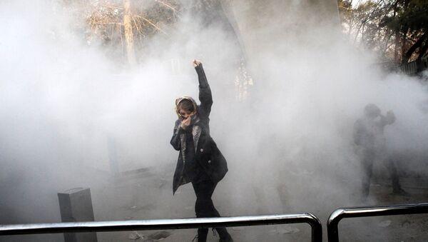 İran protesto - Sputnik Türkiye