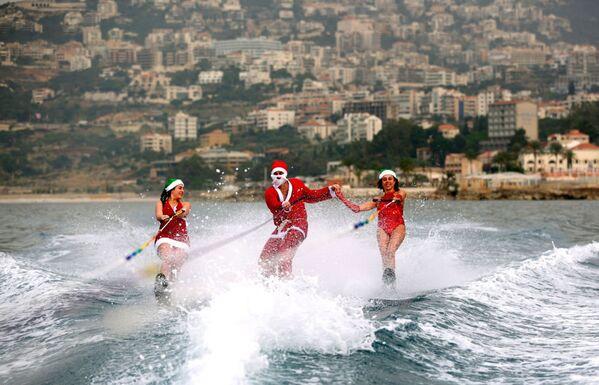 Lübnan'da bir su kayağı kulübü - Sputnik Türkiye