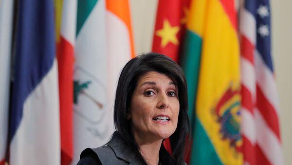 ABD'nin BM Daimi Temsilcisi Nikki Haley - Sputnik Türkiye