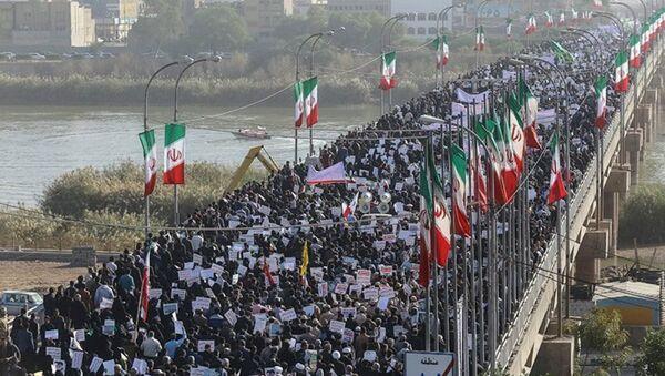 İran'da hükümete destek protestoları - Sputnik Türkiye