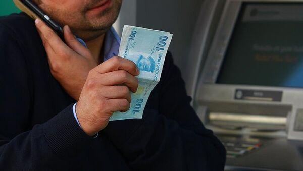 Banka, ATM, para - Sputnik Türkiye