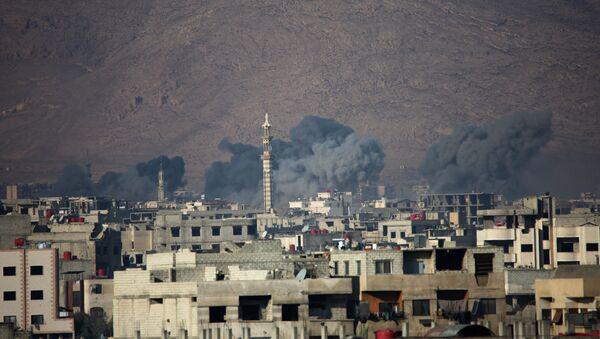 Harasta kasabası-Suriye - Sputnik Türkiye