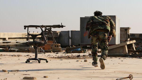 Suriye hükümet güçleri Suriye askeri Doğu Guta Harasta - Sputnik Türkiye