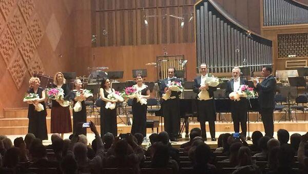 Karlov Ankara'da konserle anıldı - Sputnik Türkiye