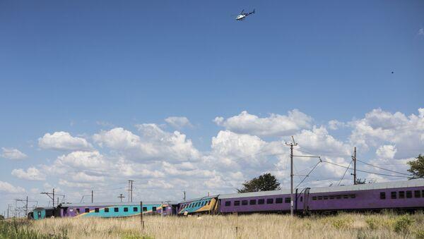 Güney Afrika Cumhuriyeti'nde yine tren kazası - Sputnik Türkiye