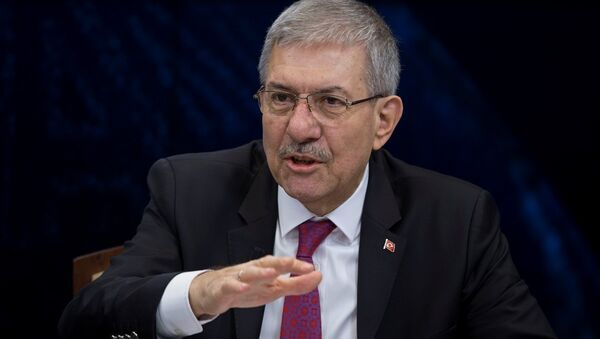 Sağlık Bakanı Ahmet Demircan, Anadolu Ajansı (AA) editör masasına konuk oldu. - Sputnik Türkiye