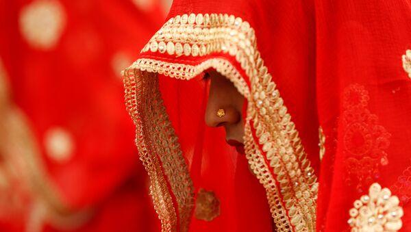 Hindistan- Kadın- Gelin- Düğün - Sputnik Türkiye