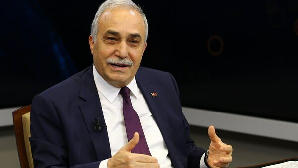 Gıda, Tarım ve Hayvancılık Bakanı Ahmet Eşref Fakıbaba, Anadolu Ajansı (AA) editör masasına konuk oldu. - Sputnik Türkiye