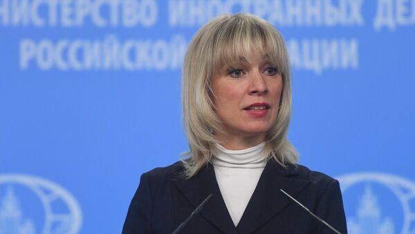 Rusya Dışişleri Bakanlı Sözcüsü Mariya Zaharova - Sputnik Türkiye