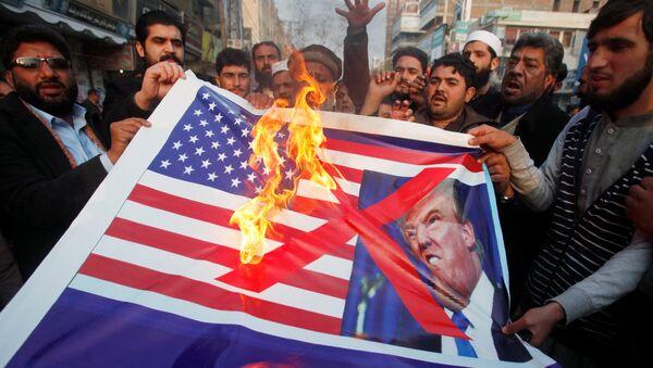 Pakistan halkı ABD'ye tepkili - Sputnik Türkiye