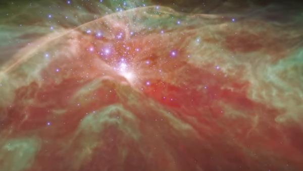NASA'nın videosu Orion bulutsusuna 'uçuruyor - Sputnik Türkiye