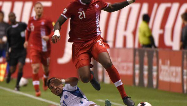 Kanadalı futbolcu Cyle Larin - Sputnik Türkiye